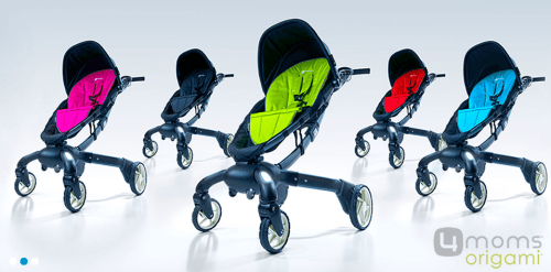 The 4moms Origami Stroller Makes All Others Look Lame