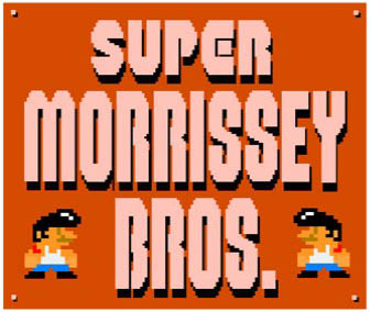 Cool Mashup of The Smiths and Super Mario Bros