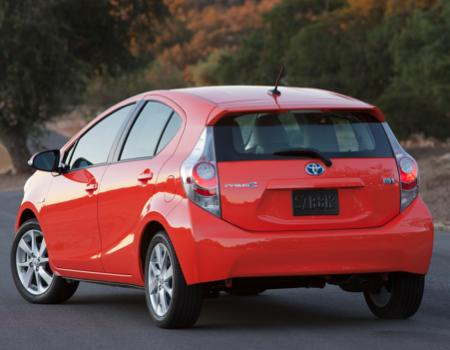 New Prius c Cute, Compact City Slicker
