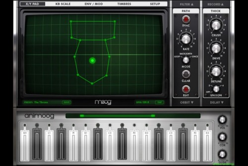 Moog Brings Bowel-Shaking BASE Pack to Animoog!
