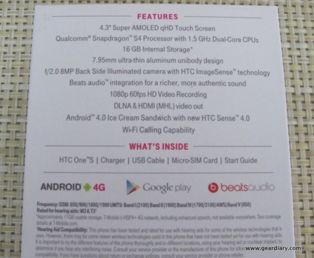 Gear Diary HTC One S 003