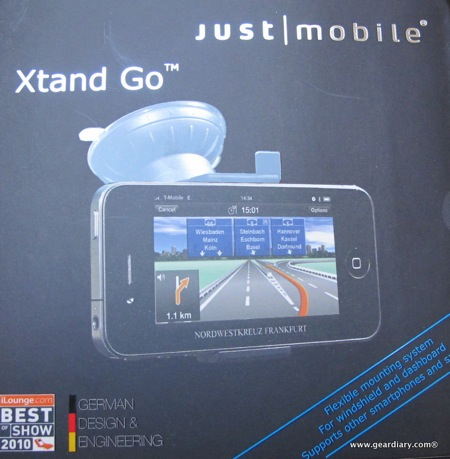 Just Mobile Xtand Go Car Mount Review