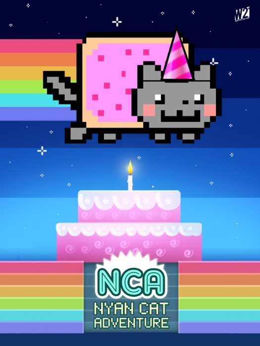 Nyan Cat Gets an 'Adventure' for its First Birthday  Nyan Cat Gets an 'Adventure' for its First Birthday