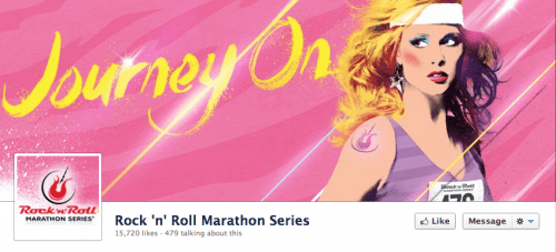 "Rock n Roll Marathon's New ""Mascot"" Proves to Be Divisive"