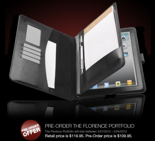 Pre-Order the Sena Florence Portfolio for iPad and Save