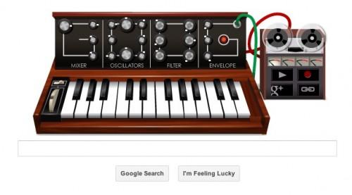 Google Doodle Celebrates Bob Moog