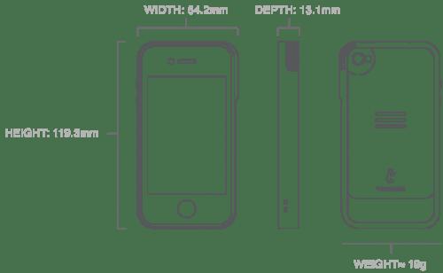 Trygger iPhone Camera Case  Trygger iPhone Camera Case