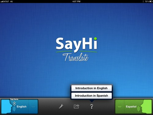 With SayHi for iOS You Get Accurate Translations on the Fly