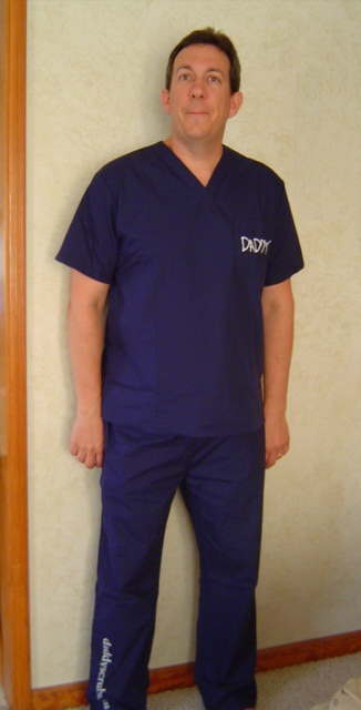 Daddy Scrubs Clothing Gear for Expecting Fathers  Daddy Scrubs Clothing Gear for Expecting Fathers