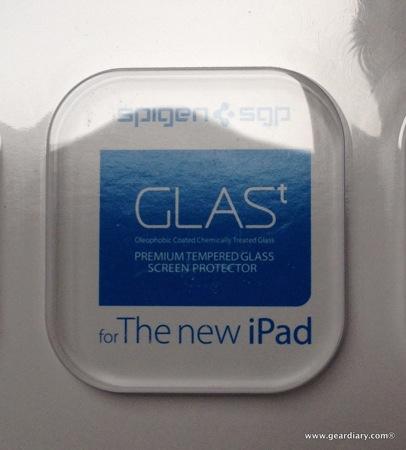 SPIGEN SGP GLAS.t Screen Protector for iPad, Review