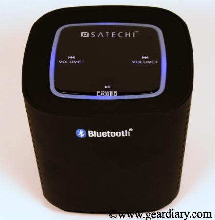 Satechi Audio Cube Portable Bluetooth Speaker Review