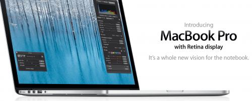 MacBook Pro with Retina Display; Why We Bit