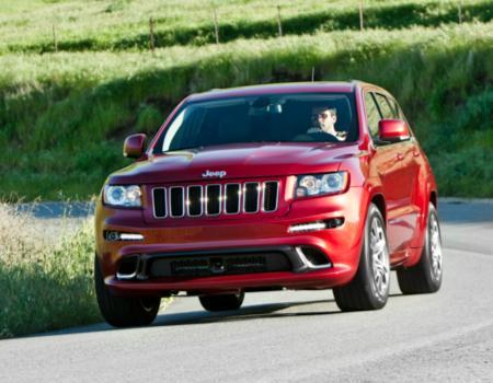 2012 Grand Cherokee SRT8 Most Powerful Jeep Yet