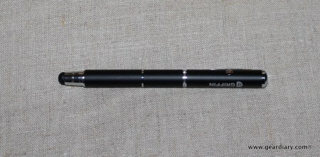 Griffin Stylus + Pen + Laser Pointer for Touchscreens, Review