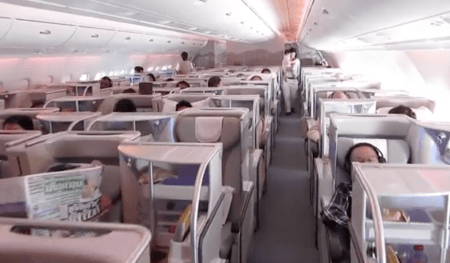 This Video of First Class on an Emerates Airlines A380 Will Have You Hating Coach More than Ever