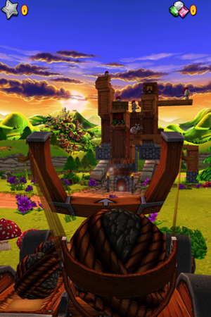Catapult King for iPhone Review; It Brings Tons of Fun