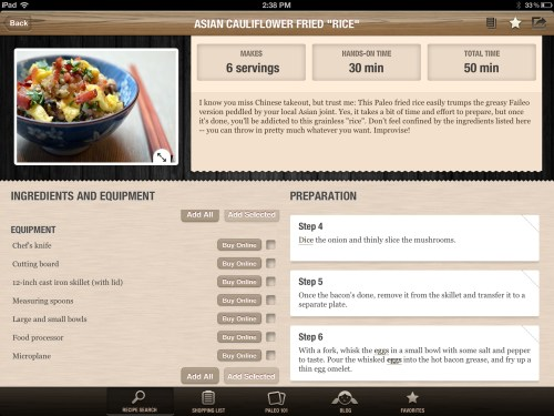 Nom Nom Paleo Recipe App Review