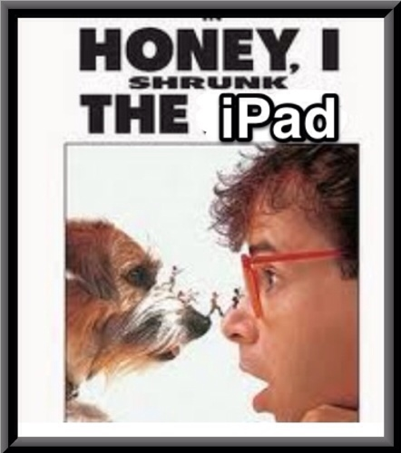iPad Mini Oh My Aching Wrists, Let It Be REAL!