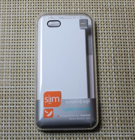 Spigen SGP Ultra Thin Air iPhone 5 Case Video Review