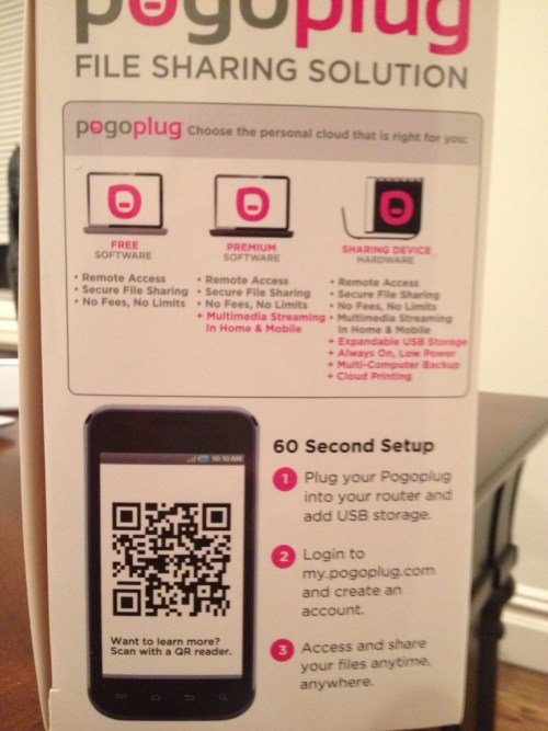 Pogoplug - My Own Private Cloud With 1TB Online Backup