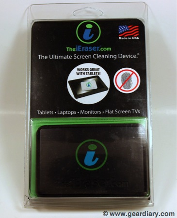 GearDiary iEraser Screen Cleaner Review