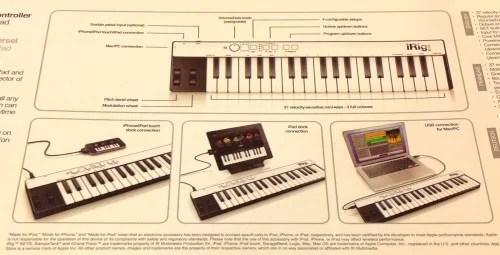 iRig Keys iOS/USB Keyboard Controller Review