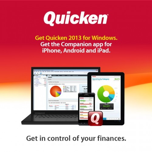 Intuit Releases Quicken 2013 with Ties to iOS/Android Apps Through 'Quicken Cloud
