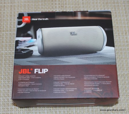 JBL FLIP Portable Wireless Loudspeaker Review  JBL FLIP Portable Wireless Loudspeaker Review