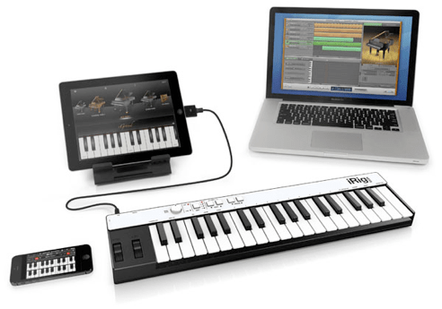 iRig Keys iOS/USB Keyboard Controller Review