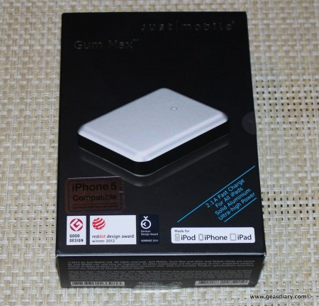 Just Mobile Gum Max Backup Battery Review