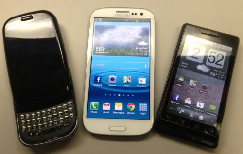 Samsung Galaxy Palm Mobile Phones & Gear Misc Gear HP Android