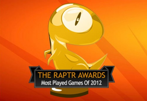 "The Raptr Report - ""Most Played Games of 2012"""