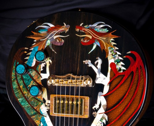 Virgil Guitars Create The Most Elaborate Custom Made Guitars Ever Built!  Virgil Guitars Create The Most Elaborate Custom Made Guitars Ever Built!