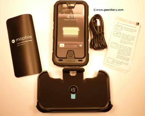 Mophie Juice Pack Pro for iPhone 4/S Review  Mophie Juice Pack Pro for iPhone 4/S Review