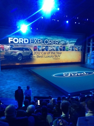 Ford's Press Conference During the North American International Auto Show  Ford's Press Conference During the North American International Auto Show