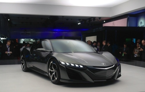 New Acura NSX Revealed