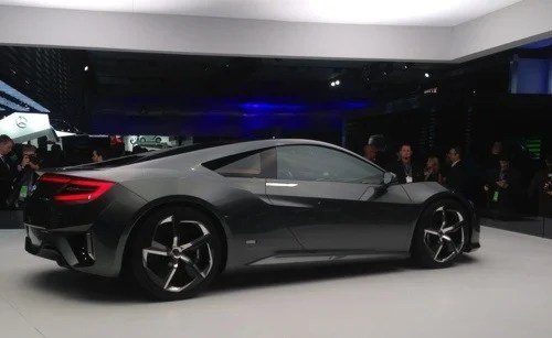 New Acura NSX Revealed  New Acura NSX Revealed