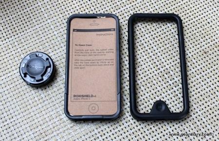 Gear Diary Rokform Rokshield V3 Case for iPhone 5 18