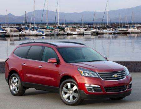 2013 Chevrolet Traverse/Image courtesy Chevrolet
