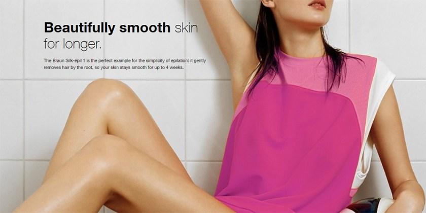 Braun Silk-Epil 1 1370 Legs and Body Epilator for Women