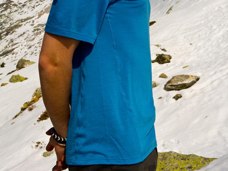 Patagonia Merino One Silkweight side men