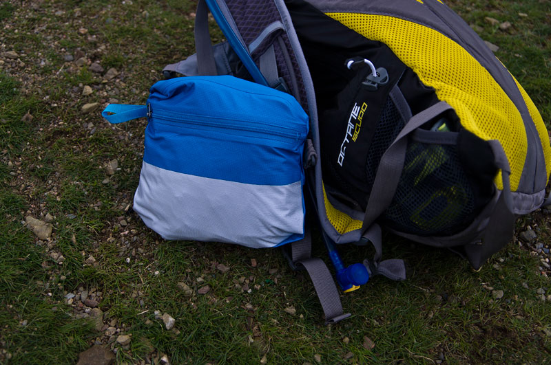 Patagonia M10 review, packed in its chest pocket