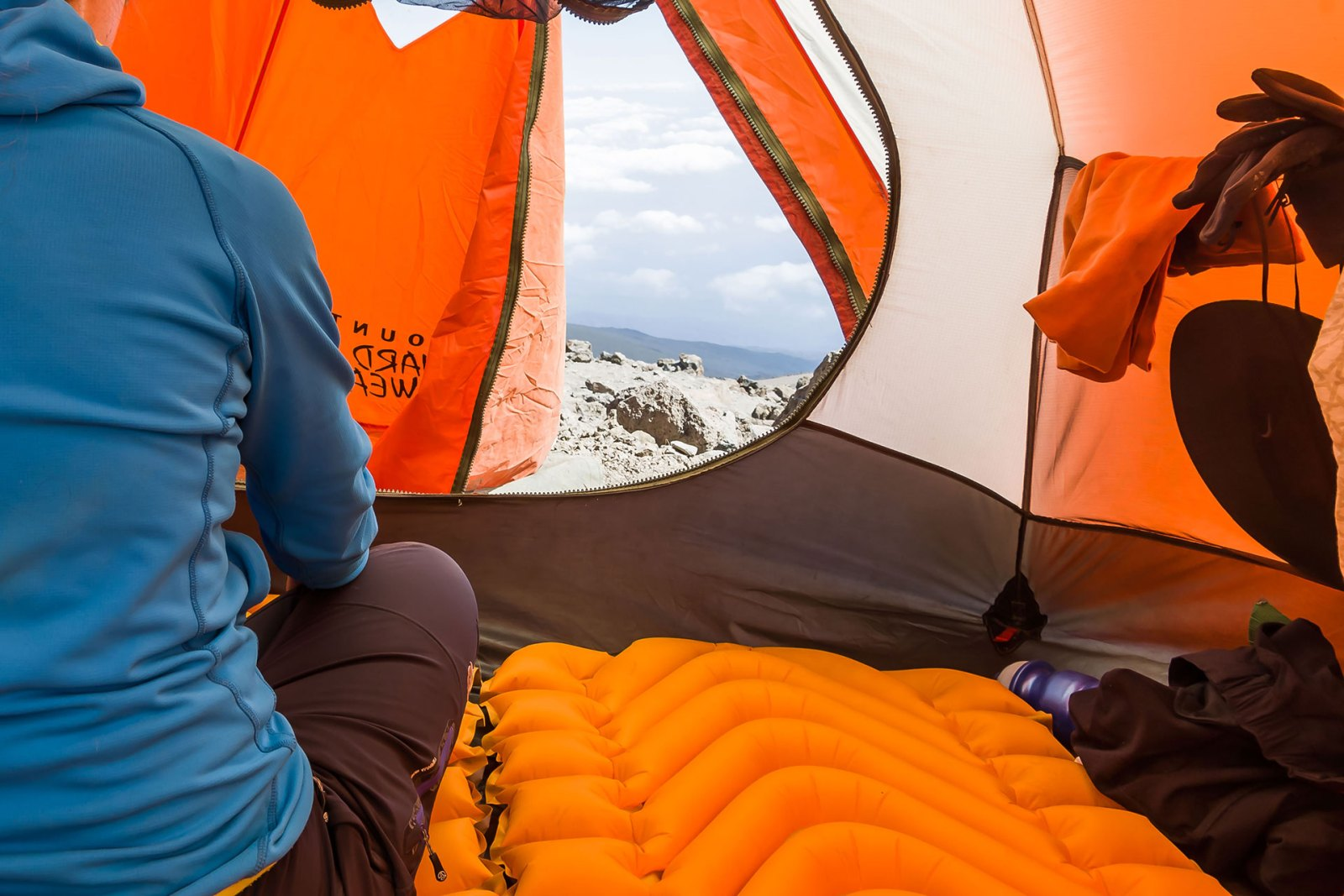 Kilimanjaro gear list: sleeping pad