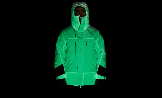 Solar Charged Puffer Jacket