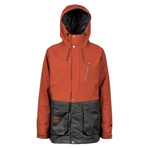 L1 Premium Goods Legacy Mens Insulated Snowboard Jacket 2019