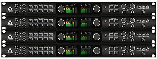 Apogee Announces Multi-unit Support for Ensemble Thunderbolt Audio Interface