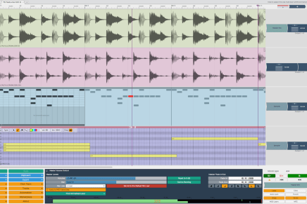 Tracktion 6 music production software now available