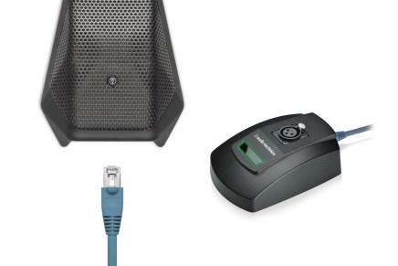 Audio Technica announces Dante Microphone Solutions