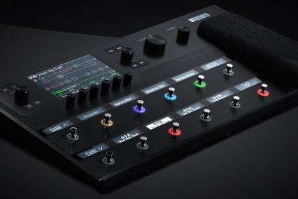 Line 6 unveils Helix guitar processor