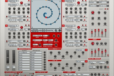 New Rob Papen Vecto Synth for Reason
